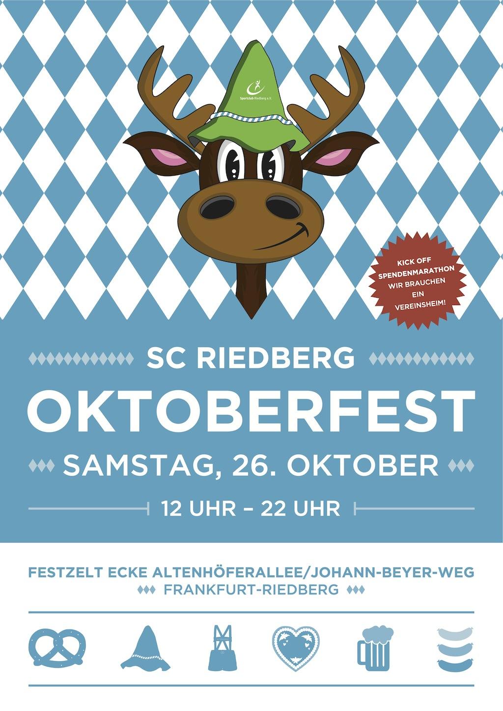 einladung oktoberfest - sc riedberg, Einladung