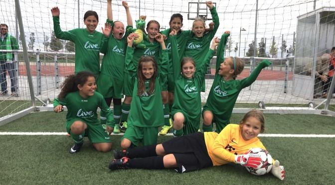 U10 Mädchen: Zweiter souveräner Sieg in Folge