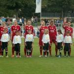 1.FFC Frankfurt - SC Sand (Einlaufkinder SC Riedberg)