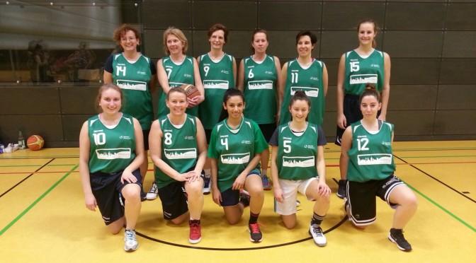 Basketball: Premiere für unsere Damen-Mannschaft