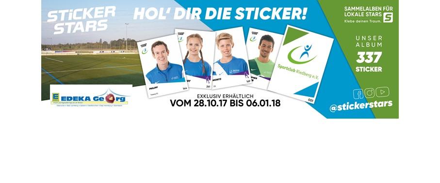 Stickerstars des SC Riedberg