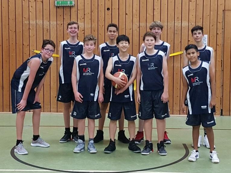 Erfolgreiche Basketballer