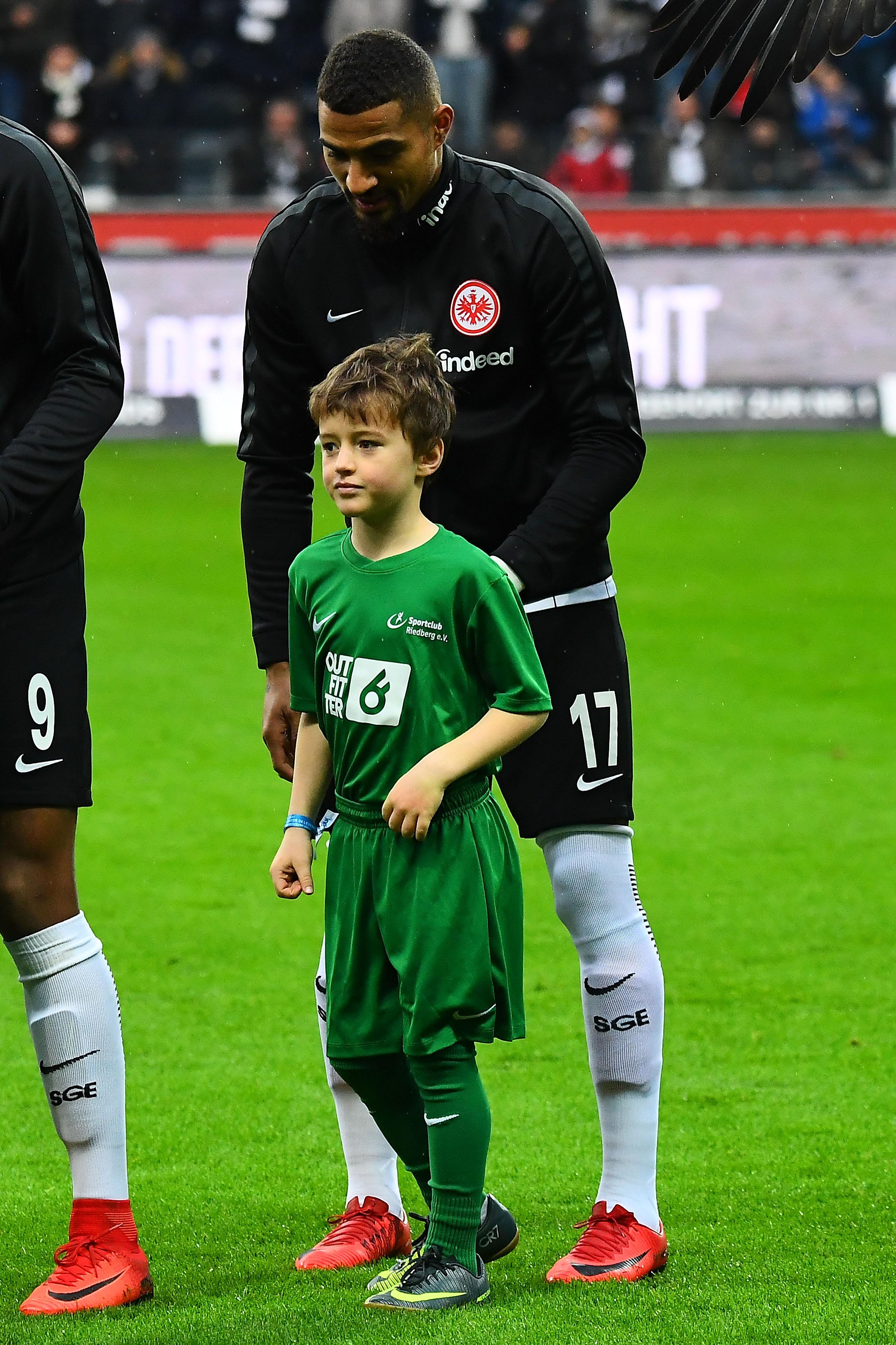 Einlaufkinder Eintracht Frankfurt