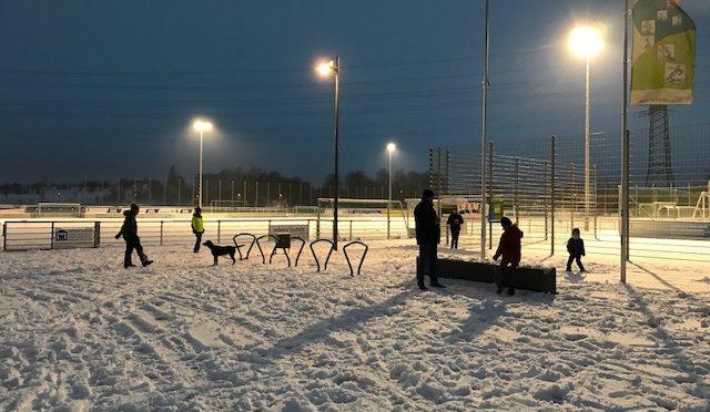 Weihnachtsgrillen der Fussball-Sparte