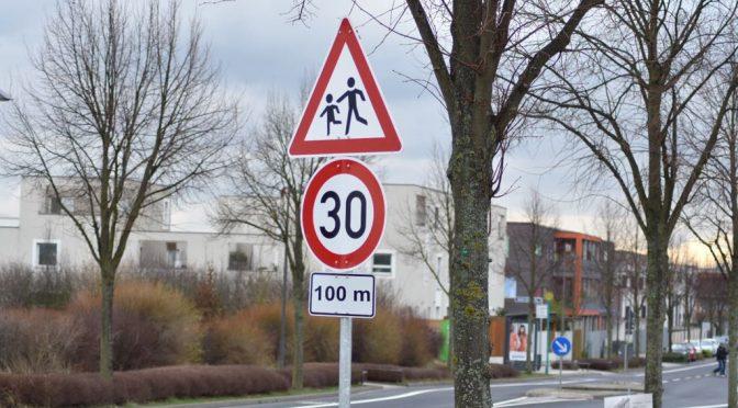 Mehr Sicherheit: 30er Zone vor Sportanlage