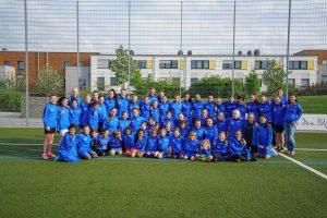 Mädchenfußball beim SCR / Das Team