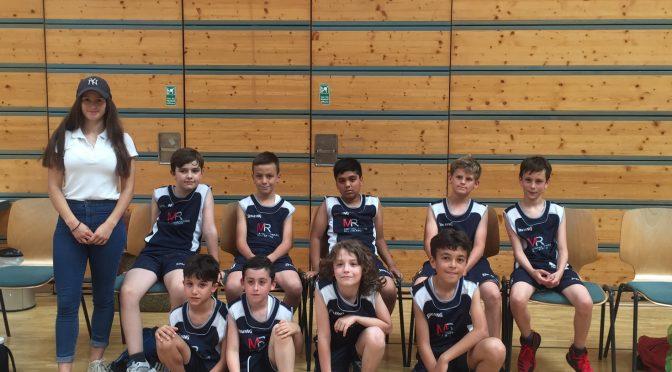 Basketball Freundschaftsspiel U10 gegen die Skyliners als Saisonabschluss