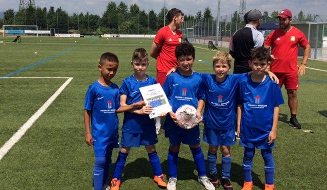 Spiel auf vier Tore – F4 gewinnt bei Turnier für den guten Zweck