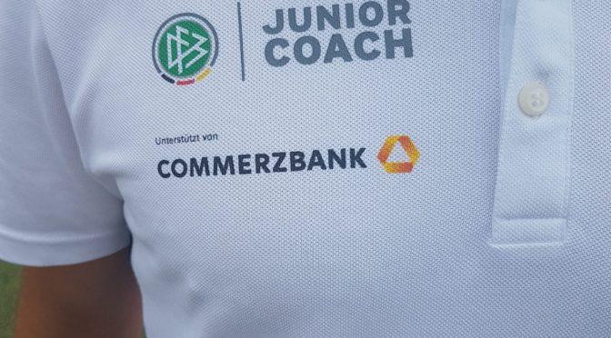 DFB Junior Coach – SCR und Gymnasium Riedberg kooperieren