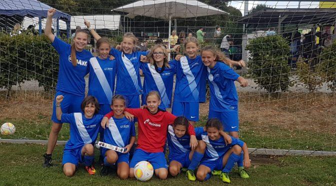Guter Saisonauftakt beim Mädchen- und Frauenfußball