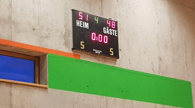 SCR Basketball U16 gewinnt gegen TSG Sulzbach