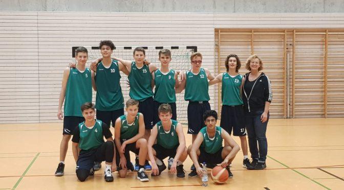 SCR Basketball U16 Bezirksliga gewinnt gegen BC Neu-Isenburg