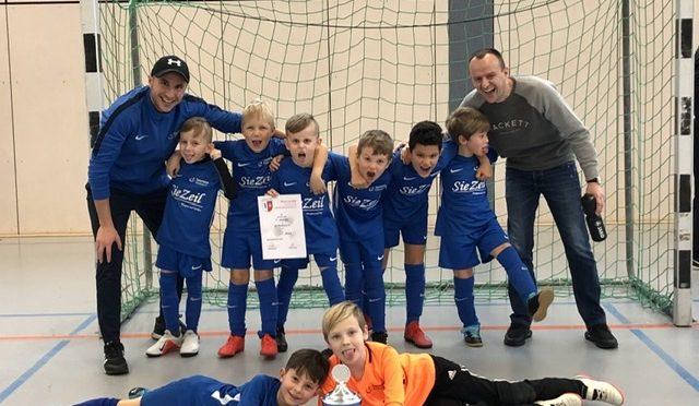 Turniersieg unserer F4 beim SGK Bad Homburg 1890 Winter Cup 2019/20