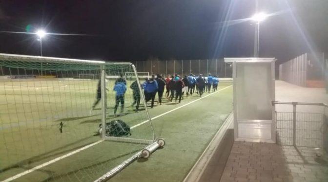 Gestern hat die Vorbereitung unserer 1. Herrenmannschaft Fußball begonnen.