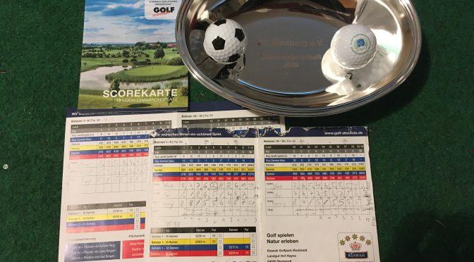 Clubmeister 2020 des SCR im Golf stehen fest